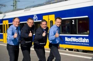 Die NordWestBahn hat zufriedene, aber zu wenige Mitarbeiter