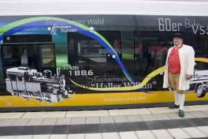 Die Nordwestbahn fährt ab auf dem Haller Willem