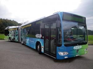 Hybridbus bei BSU