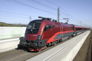 Der Railjet der ÖBB