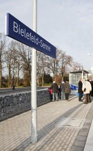 Der neue Halt Bielefeld Senne ist eröffnet