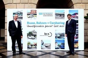 VDV macht sich für Carsharing start