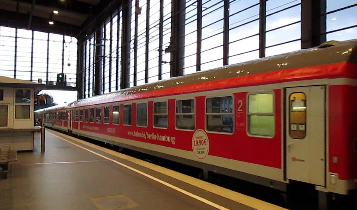 db startet interregio express linie berlin hamburg eisenbahnjournal. Black Bedroom Furniture Sets. Home Design Ideas